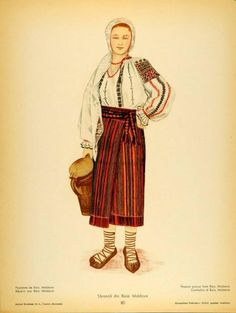 Baia, Moldavia Folk Costume, Costumes, Anglo Saxon History, Simple Cross Stitch, Animal Masks, Folk Embroidery, Medieval Clothing, Fashion History, Traditional Dresses