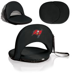 Black Oniva Seat by Picnic Time- Tampa Bay Buccaneers