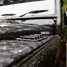 The Twisted P10 featuring the autumn weather! - #TwistedDefender #Details #CloseUp #Defender #LandRover #Lifestyle #Yorkshire #BestOfBritish #4x4 #Photography #LandRoverDefender #Modified #Premium #Rain #RainDrops #Customised #Customisation #InsideAndOut #Autumn #Handmade #Handcrafted
