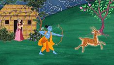 Sita Sings the Blues is really three stories in one, told in words, animation, and song, woven on the loom of the ancient Hindu epic, the Ramayana.