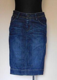 Kup mój przedmiot na #vintedpl http://www.vinted.pl/damska-odziez/spodnice/15956879-kuyichi-spodnica-midi-jeans-olowkowa-38