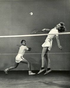 https://flic.kr/p/dUA4yy | Mili, Gjon (1904-1984) - 1939 Badminton Players…