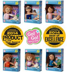 Dream Big Toy Company aka @dreambigtoy wins the 2014 Kids' Product of the Year Award in the Educational Category and the SEAL OF EXCELLENCE Award in the Book  Doll Set category from @creativechildmg  #KidsPictureBooks #GreatBooksforGirls