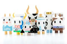 How can you not love The Moofia? I adore Tokidoki! The Moofia - Blind Box Toy Collectables