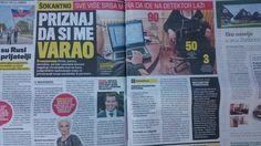 U današnjem izdanju dnevnog lista KURIR diskutovali smo na temu poligrafa i poligrafskih ispitivanja u Srbiji:  Članak u elektronskoj verziji možete pročitati klikom na link ispod:  http://www.kurir.rs/vesti/drustvo/2905463/srbi-placaju-poligraf-da-otkriju-prevare-u-braku-privatni-detektiv-otkriva-detalje-ispitivanja-evo-ko-vise-unajmljuje-muskarci-ili-zene