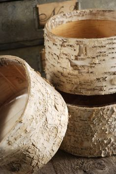 Measures x Comes with plastic liner. This birch bark bowl adds a touch of natural candor to your environment. A plastic liner is stapled inside to help contain your floral arrangements. Made of natural birch Wood Planter Box, Wood Planters, Decorative Planters, Succulent Centerpieces, Wedding Centerpieces, Centerpiece Ideas, Floral Centerpieces, Wedding Decorations, Dog Bowl Stand