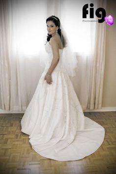 Wedding, Bride in her Wedding Dress Wedding Bride, Wedding Dresses, Fashion, Bride Dresses, Moda, Bridal Wedding Dresses, Fashion Styles, Weeding Dresses, The Bride