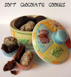 Biscotti morbidi al cioccolato by dolci a gogo, via Flickr