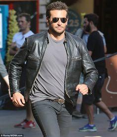 #adamsjohnbradleycooperbikerjacket #adamsjohnbradleycooperleatherjacket #adamsjohnjacket #bradleycooperleatherjacket #celebrityapparel