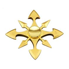 These fidget spinners are shaped like real ninja throwing stars. Obviously they are super awesome, and will make you the envy of all the other dorks with fidget Cool Fidget Spinners, Hand Spinner, Bolo Youtube, Adhd Fidgets, Ninja Gear, Shuriken, Gold Hands, Star Fashion, Frames