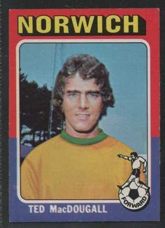 RED BACK 1977 TOPPS-FOOTBALL -#155- DERBY LEIGHTON JAMES