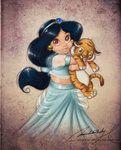 Too cute, I love all of her representations of the Disney princesses.