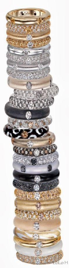 LOOKandLOVEwithLOLO: There's No Such Thing As Too Much Bling!!! (At least in my world)Adolfo Courrier Rings