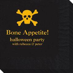 Skull and Crossbones Napkins