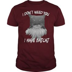 If you love cats - it is tees and sweat shirts for you! Guys t shirts $19 #batcat #catholic