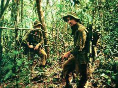 1968  Sergeant Tom Birnie of Company D, 2nd Battalion, Royal Australian Regiment during Operation Coburg, Bien Hoa, Vietnam