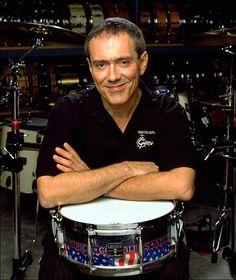 Vinnie Colaiuta, my all-time favorite drummer.