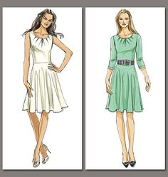 Pattern Review: Vogue 8663 Dress | Gorgeous Fabrics' Blog