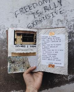 — failures, i think // art journal + poetry by noor unnahar  // artists poets work, Tumblr aesthetics, words quotes inspiring poem, hipsters grunge iphone photography instagram ideas inspiration, journaling diy scrapbooking mixed media cut and paste, writers of color Pakistani //