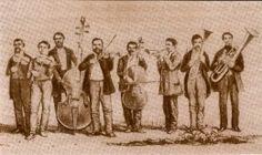 FERENC BUNKO'S BAND 1854 (DRAWING BY VARSANYI)