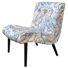 Desantis Paisley Slipper Chair