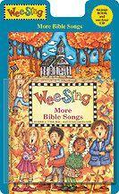 Wee Sing More Bible Songs (Book & CD)