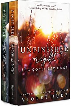 Unfinished Night: The Complete Duet - http://www.justkindlebooks.com/unfinished-night-complete-duet/