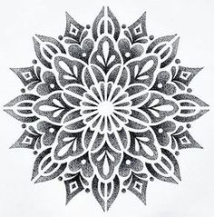 Beautiful dotwork
