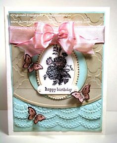 Stamping with Julie Gearinger