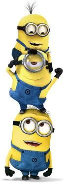 Minions working together