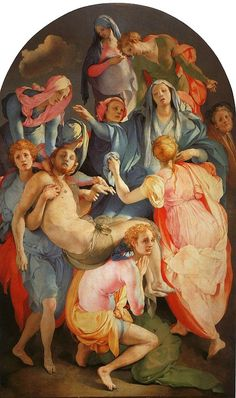 one of my favorite paintings of all time, the Deposition by Pontormo