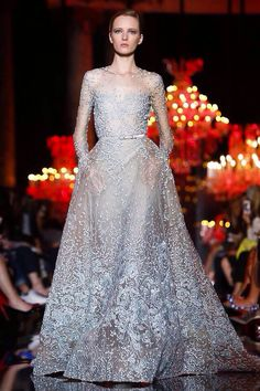 elie saab - paris fashion week fall/winter 2014-2015