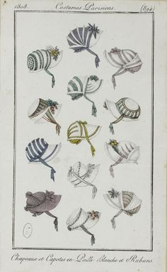 Journal des dames et des modes / Costume Parisien: 25 Mai, 1808 (b)