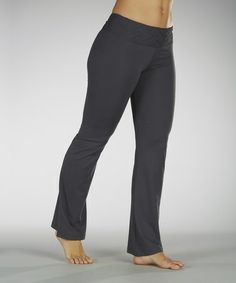 Another great find on #zulily! Carbon Embossed Waistband Yoga Pants #zulilyfinds