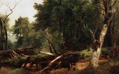 Hudson River School Asher Durand   Asher Durand Oil Painting, Biography American Hudson River School
