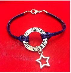6 Colors Star Cheerleading Bracelet Navy Blue We Are Loving These Super Cute Cheer