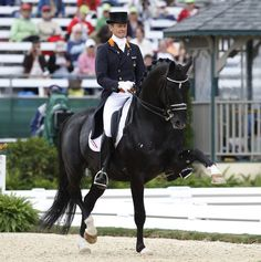 Extended Trot - Edward Gal and Moorlands Totilas were the stars of the show, as they have been wherever they have competed in the past two years and this time for the first and perhaps only time in America. - WEG - Photograph © 2010 Ken Braddick/dressage-news.com