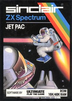 Jet Pac - the game that got me a ZX Spectrum