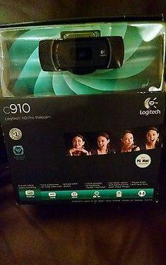 Logitech C910 PRO HD Webcam XP-Vista-Windows-7