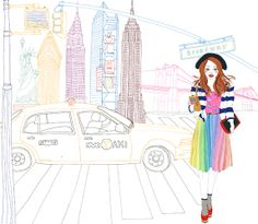 sarah beetson, empir state, new york city, york citi, citi fashionista