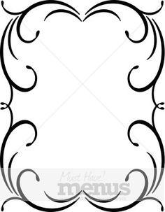 clip art wedding borders free | Wedding Flower Borders, Floral ...