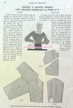 Understanding The Vintage Sewing Pattern - Sewing Method Retro Vintage Dresses, Vintage Diy, Techniques Couture, Sewing Techniques, Fashion Sewing, Diy Fashion, Corsage, Journal Vintage, Patron Vintage