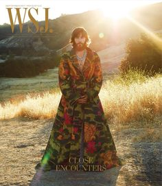 Jared Leto / Photography by Terry Richardson / For WSJ Magazine September 2017 Jared Leto, Wall Street Journal Magazine, Wsj Magazine, Magazine Covers, Gucci Coat, Terry Richardson, Fashion Stylist, Foto E Video, Style Icons