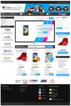 Toko online keren ga pakai lama bisa Anda miliki sekarang. Hanya Rp. 650.000,-/tahun, Anda sudah bisa memiliki toko online keren dengan domain .com/net dan space hosting 1 Giga bandwidth 40Giga/bulan. Cukup untuk menampung sekitar 1000 produk.