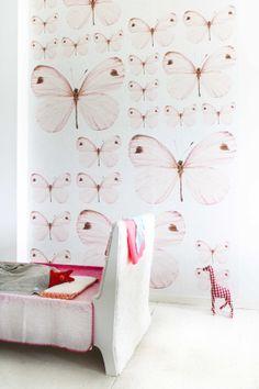 OZ 3158 behang van Onszelf prachtig voor de meisjes kinderkamer