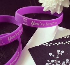 Make wedding/Anniversary memorable. Imprint the Groom, Bride name,date and clipart. #WeddingWristbands
