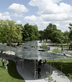 Exhibitions and Events | Serpentine GalleriesThe 2009 Pavilion was designed by Kazuyo Sejima and Ryue Nishizawa of leading Japanese architecture practice SANAA.