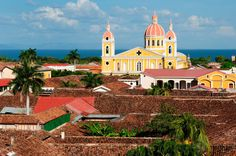 """Nicaragua: Every few years, a new Central American country gets crowned """"the next Costa Rica"""" -- meaning it's relatively safe and bursting w. Best Places To Retire, Places To See, Colonial, Cities, Managua, Travel Icon, Good Day Song, American Country, Central America"""