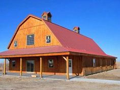 Sand Creek Post & Beam Traditional Barn Kits | Living the Country Life