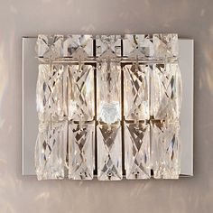 Buy John Lewis & Partners Kelsey Single Cube Wall Light, Crystal Clear from our Wall Lighting range at John Lewis & Partners. House Drawing, Drawing Room, Wall Lights, Ceiling Lights, John Lewis, Cube, Decorative Boxes, Crystals, Frame